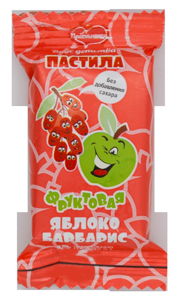 Пастила Яблочно-Барбарисовая 1 кг. Новинка!